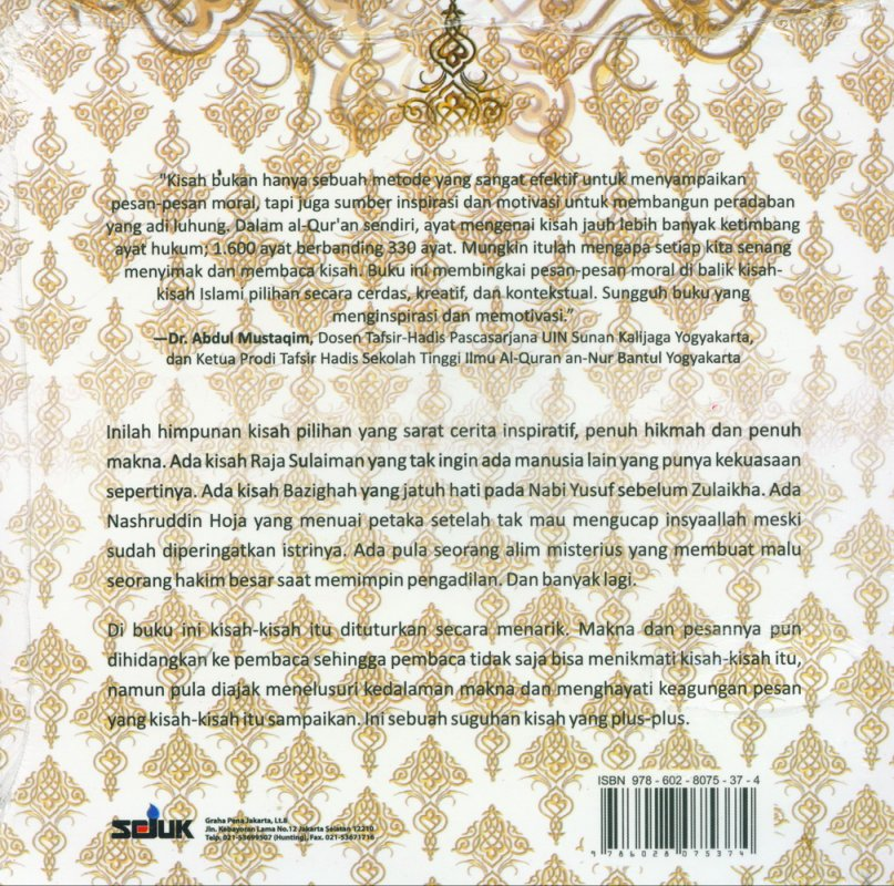 Cover Belakang Buku Misteri Rakusnya Nabi Sulaiman