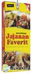 Cover Buku Kartu Resep Jajanan Favorit