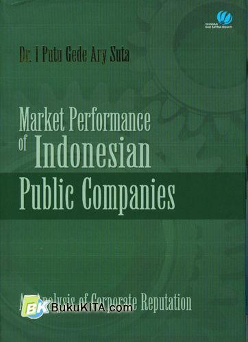 Cover Buku Market Performance di Indonesian Public Companies
