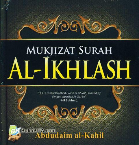 Cover Buku Mukjizat Surah Al-Ikhlash