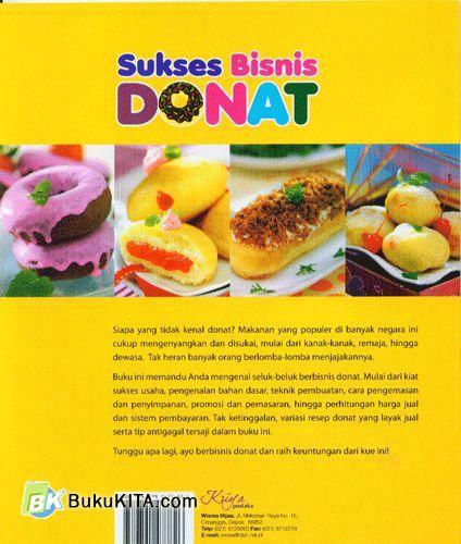 Cover Belakang Buku Sukses Bisnis Donat