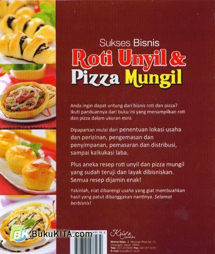 Cover Belakang Buku Sukses Bisnis Roti Unyil & Pizza Mungil