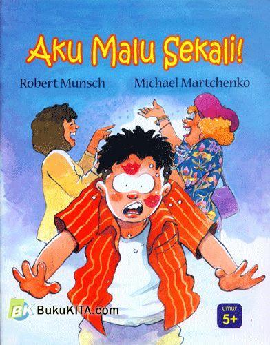 Cover Buku Aku Malu Sekali!