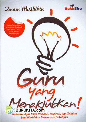Cover Buku Guru yang Menakjubkan