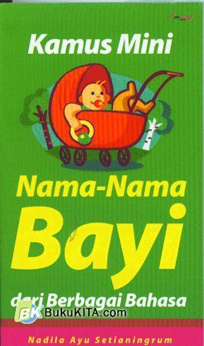 Cover Buku Kamus Mini Nama-Nama Bayi dari Berbagai Bahasa