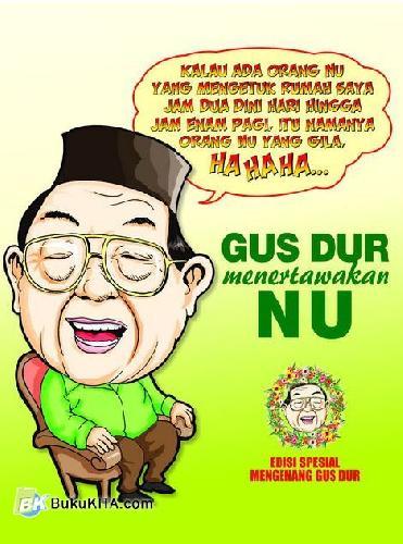 Cover Buku Gus Dur Menertawakan NU (edisi spesial)