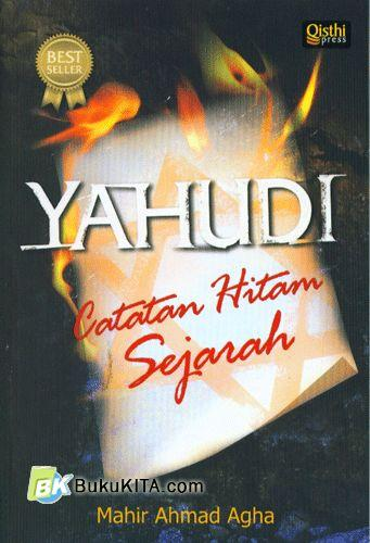 Cover Buku Yahudi : Catatan Hitam Sejarah