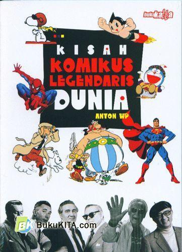 Cover Buku Kisah Komikus Legendaris Dunia