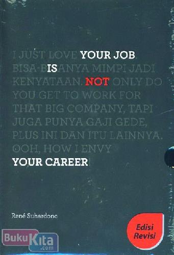 Cover Buku Your Job Is Not Your Career (Cover Baru)