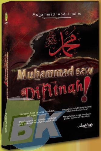 Cover Buku Muhammad Saw Difitnah!