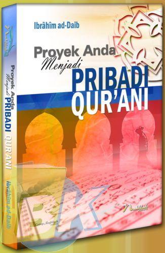 Cover Buku Proyek Anda Menjadi Pribadi Qurani