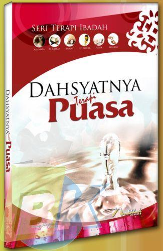 Cover Buku Dahsyatnya Terapi Puasa