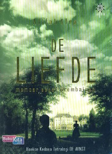Cover Buku De Liefde : Memoar Sekar Prembajoen