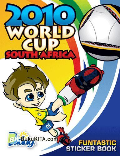 Cover Buku 2010 World Cup South Africa