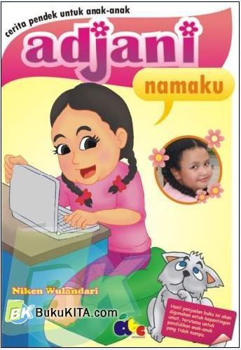 Cover Buku Adjani Namaku
