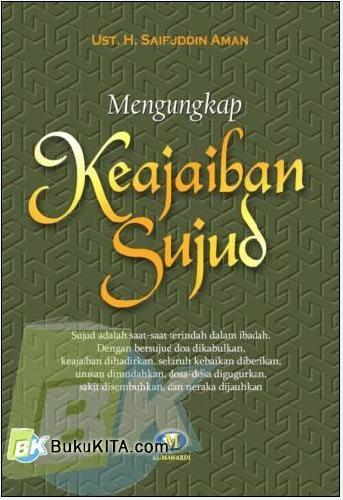 Cover Buku Mengungkap Keajaiban Sujud