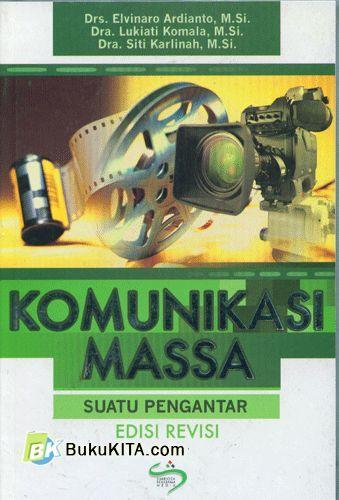 Cover Buku Komunikasi Massa (Suatu Pengantar) Edisi Revisi