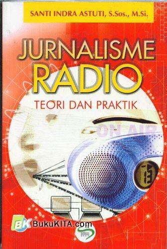 Cover Buku Jurnalisme Radio (Teori dan Praktik)