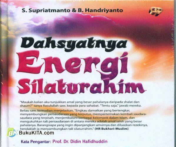 Cover Buku Dahsyatnya Energi Silaturahmi