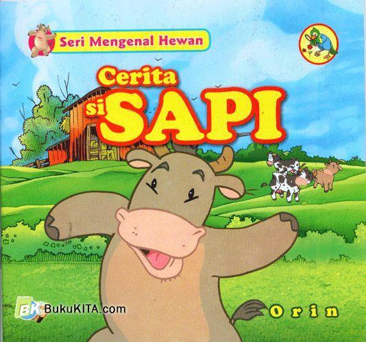Cover Buku Cerita si Sapi