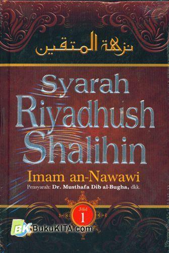 Cover Buku Syarah Riyadhush Shalihin Jilid 1