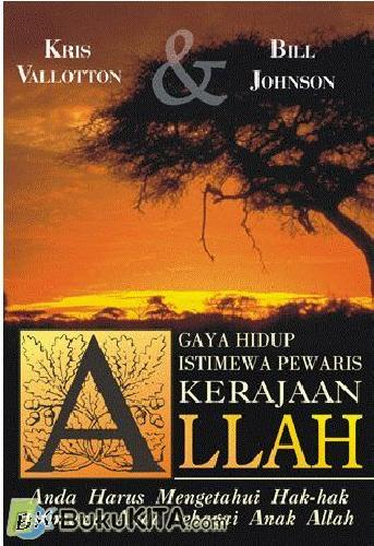 Cover Buku Gaya Hidup Istimewa Pewaris Kerajaan Allah