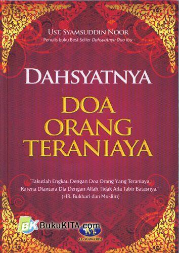 Cover Buku Dahsyatnya Doa Orang Teraniaya