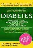 Cover Buku Diabetes - Penemuan Baru Memerangi Diabetes Melalui Diet Golongan Darah