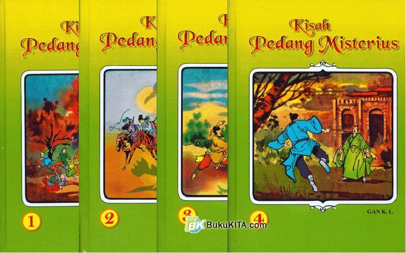Cover Buku Kisah Pedang Misterius 3-4 (Tamat)