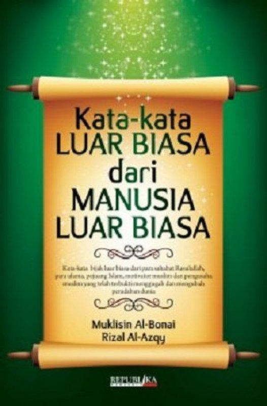 Cover Buku Kata-Kata Luar Biasa dari Manusia Luar Biasa