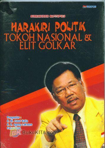 Cover Buku Harakiri Politik Tokoh Nasional & Elit Golkar