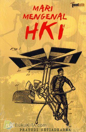 Cover Buku Mari Mengenal HKI