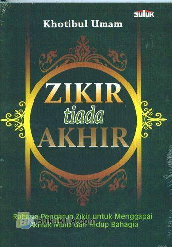 Cover Buku Zikir Tiada Akhir