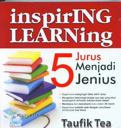 Cover Buku Inspiring Learning : 5 Jurus Menjadi Jenius