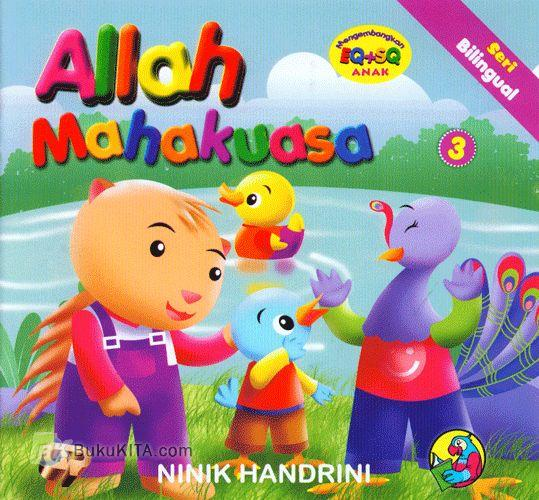 Cover Buku Seri Bilingual : Allah Mahakuasa #3