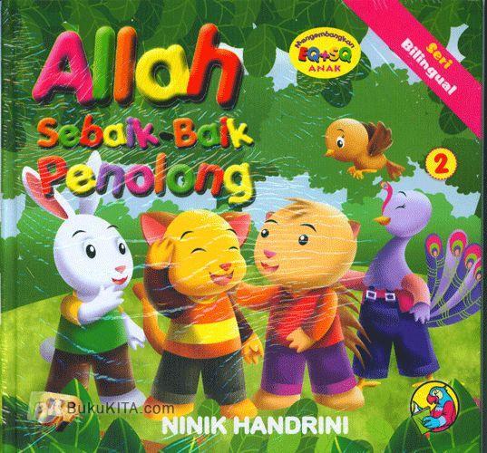 Cover Buku Seri Bilingual : Allah Sebaik-baik Penolong #2