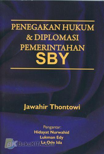 Cover Buku Penegakan Hukum & Diplomasi Pemerintahan SBY