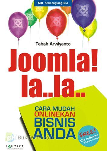 Cover Buku Joomla! la..la.. Cara Mudah Onlinekan Bisnis Anda