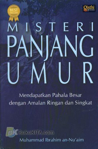 Cover Buku Misteri Panjang Umur