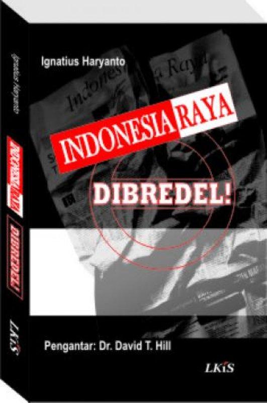 Cover Buku Indonesia Raya Dibredel