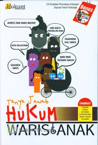 Cover Buku Tanya Jawab hukum Waris & Anak