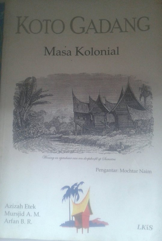 Cover Buku Koto Gadang