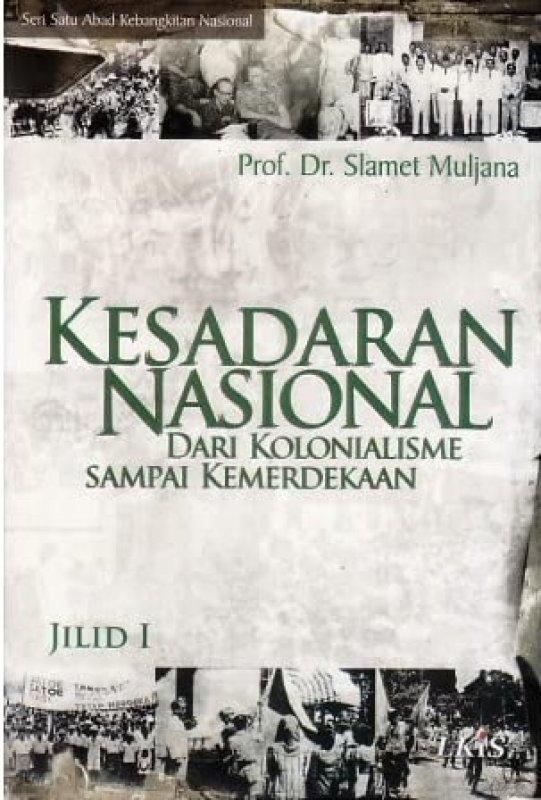 Cover Buku Kesadaran Nasional Jilid I