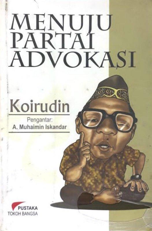 Cover Buku Menuju Partai Advokasi