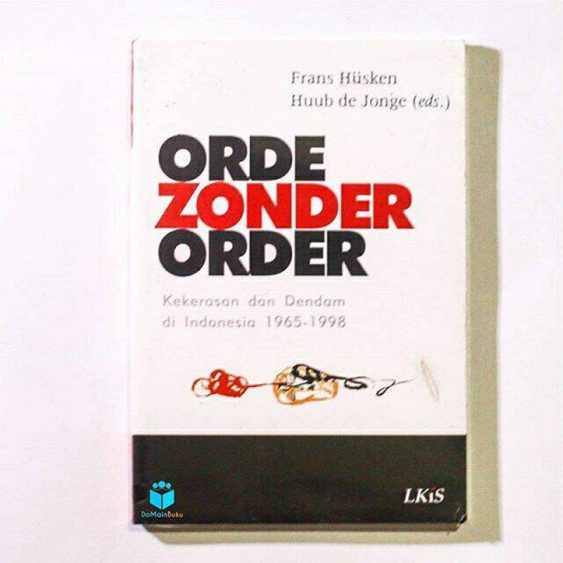 Cover Buku Orde Zonder Order