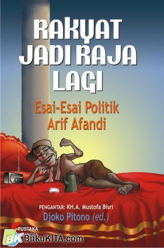 Cover Buku Rakyat Jadi Raja Lagi