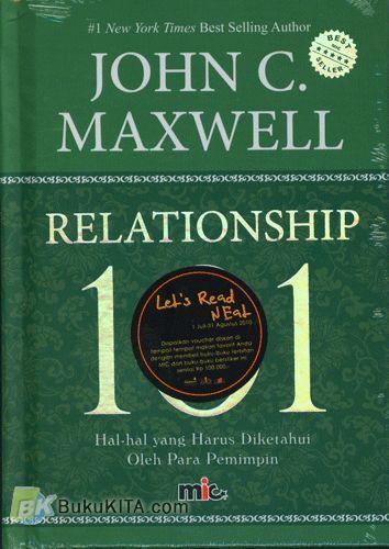 Cover Buku Relationship 101 : Hal-Hal yang Harus Diketahui Oleh Para Pemimpin