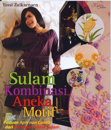 Cover Buku Sulam Kombinasi Aneka Motif