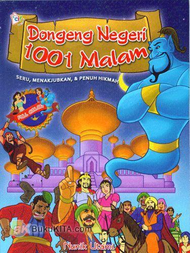 Cover Buku Dongeng Negeri 1001 Malam