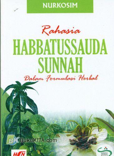 Cover Buku Rahasia Habbatussauda Sunnah Dalam Formulasi Herbal